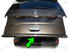 VW t5 transporter multivan gepäcktürklappe Schwarz karosserie markante hecklippe
