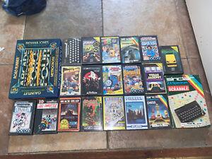 Qty 23 games job lot bundle  ZX Sinclair Spectrum Cassettes Hit Squad Etc