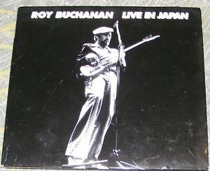 Roy Buchanan - Live in Japan (CD 2003) live recording in Digipak format = USED