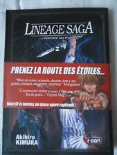 Lineage Saga, tome 2  Akihiro Kimura ki-oon MANGA HERITIER ETOILES