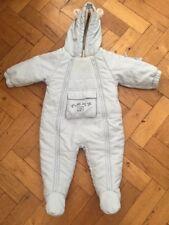 Next Pale Blue Snow/Pram Suit - 6-9 months