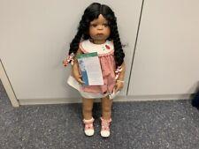 Inge Tenbusch Porzellan Puppe 77 cm. Top Zustand