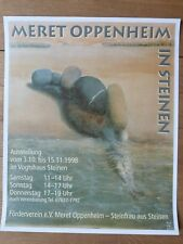 Meret Oppenheim - Steinfrau - Plakat