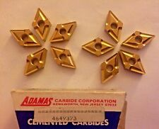 Adamas Cemented Carbide Inserts -4649373- Qty. 10- New