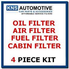 VW golf mk4 & bora 2,3 2,8 R32 (97-04) huile, carburant, cabine et filtre à air service kit