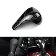 Carbon Fiber Interior Gear Shift Knob Shifter Cover For Audi A4 B8 A5 A6 Q5 Q7