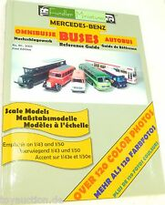 Autobus fundler Miniature MERCEDES BENZ e pullman bus Reference Guide # Å