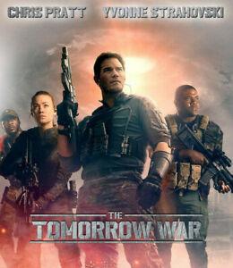 The Tomorrow War (2021) Collectible on BD NEW w/ Chris Pratt & Yvonne Strahovski
