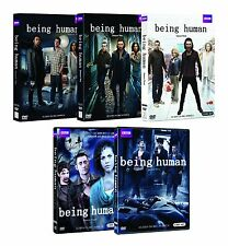 Being Human Complete DVD Set Collection TV Show Series Season Lot Episodes Box