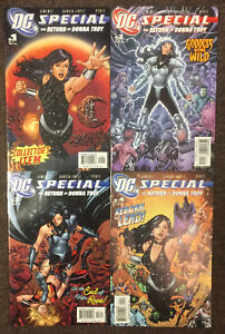 DC Special The Return of Donna Troy # 1 2 3 4 DC Complete Set Teen Titans Perez