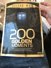 Doctor Who Magazine Special Edition - 200 Golden Moments Creases Front