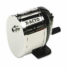 X Acto Model L Classroom Manual Pencil Sharpener Blackchrome 1041