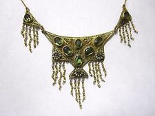 Vintage 18k/14k necklace with seed pearls