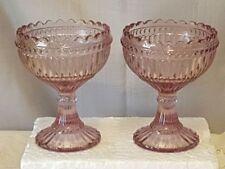 Art Deco Pink Depression Glass