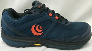 Topo Athletic Mens Terraventure 3 Running Shoes M048 Navy/Orange Size 10