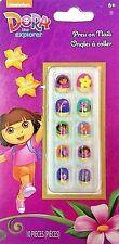 Nickelodeon Dora the explorer self adhesive press on nails new