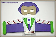 Handmade Eye Mask and Wings Set - Buzz Lightyear from Toy Story