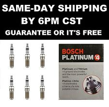 6 Bosch Platinum+4 4488 Spark Plugs 2009 PONTIAC G6 CADILLAC SRX V6