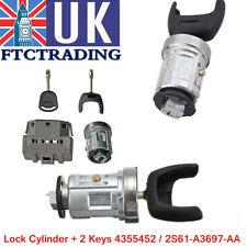 Ignition Switch & Barrel Cyclinder Lock Cylinder +2 Keys For Ford Transit MK7 UK