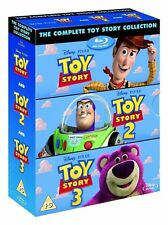 The Complete Toy Story Collection 1 2 3 Blu-ray Box Set Disney Pixar Trilogy NEW