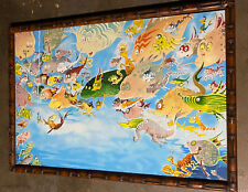 Dr. Seuss Plethora Of Fish Serigraph Limited Edition