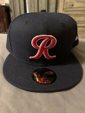 Tacoma Rainiers Triple A New Era Navy Blue Hat 59FIFTY Fitted Size 8 Brand New