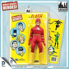 DC Comics 20cm Action Figures With Mego-like Retro Cards Flash.