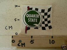STICKER,DECAL QUAKER STATE FINISH FLAG