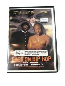 Eyes On Hip Hop RIP Tribute Collectors Tupac Shakur BIG PUN Notorious B.I.G. DVD