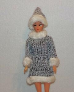 ♥♥ Vintage  Petra Plasty 5725 Kleid und Mütze  von 1972   ♥♥G1