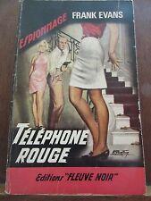 Frank Evans: Téléphone rouge / Fleuve Noir Espionnage N°619