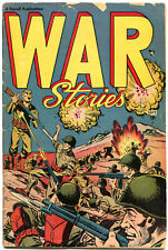 WAR STORIES #1, VG, 1952, Golden Age, Farrell, Enemy Landing, more in store