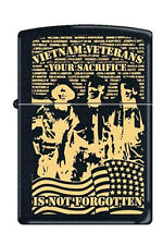 Zippo 218 vietnam verterans sacrifice full size Lighter