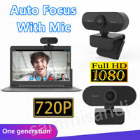 Full HD Webcam Camera 1080P Web Cam For Desktop PC Video Calling with Mic TR