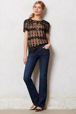 J BRAND Anthropologie Brooke Slim Bootcut Midrise Jeans Waltz $188 sz 30 x 32.5