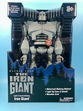 """The Iron Giant 14"""" Walking + Talking Light Up Toy Brand New in Box"""