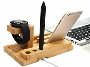 4 in 1 Charging Dock Charger Stand For Apple Watch Series iPhone iPad Station UK