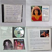 SHEILA FERGUSON of THE THREE DEGREES SIGNED personal AUTOGRAPH misty blue 3 soul