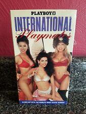 PLAYBOY INTERNATIONAL PLAYMATES  VHS TAPE RARE OOP BRAND NEW