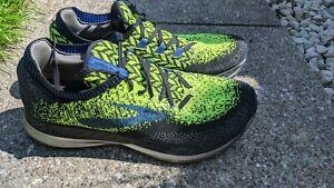 Brooks Mens Bedlam Running Shoes, Black/Nightlife/Blue UK 10