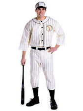 New Adult Old Tyme Baseball Player Costume Fancy Dress Sport Brand New Football