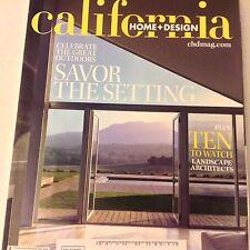 California Home + Design Magazine Kenwood's Scene May/June 2009 070817nonrh2