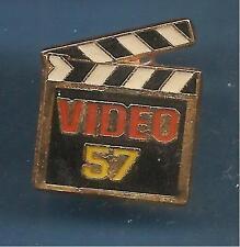 Pin's pin CLAP CLAQUETTE CINEMA VIDEO 57 (ref 080)