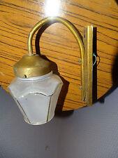 TRES BELLE APPLIQUE LAMPE LUMINAIRE TULIPE FLEUR ART DECO ANNEES 50-60