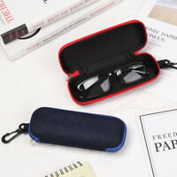 Hard Eyewear Protector Glasses Box Zipper Eyeglasses Case Spectacle Case