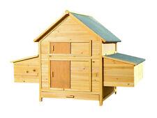 XXL Hühnerstall Hühnerhaus Kaninchenkäfig Hasenstall Hühner Kaninchenstall M2