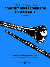 Concert Repertoire: (clarinet and Piano) by Faber Music Ltd (Paperback, 2004)