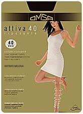 10 x Collant OMSA attiva 40 colore Nero Taglie 2/s Super prezzo