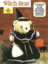 *Witch Bear Outfit crochet PATTERN INSTRUCTIONS