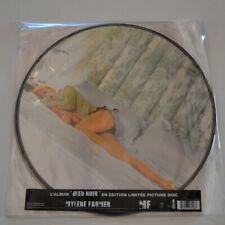 MYLENE FARMER - BLEU NOIR - 2013 EDITION LIM. 2-LP VINYL PICTURE DISC